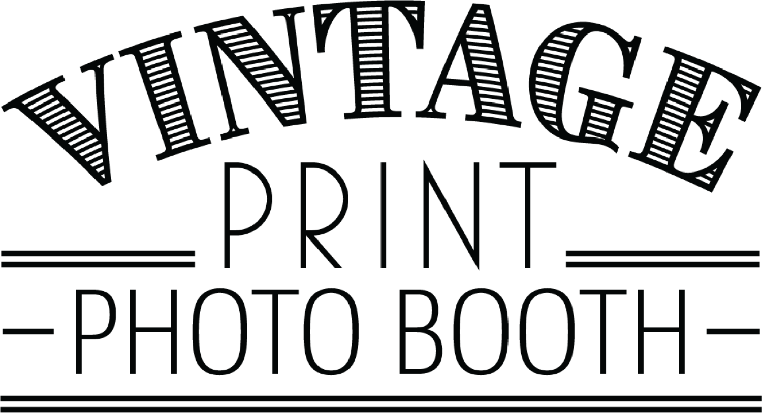 Vintage Print Photo Booth