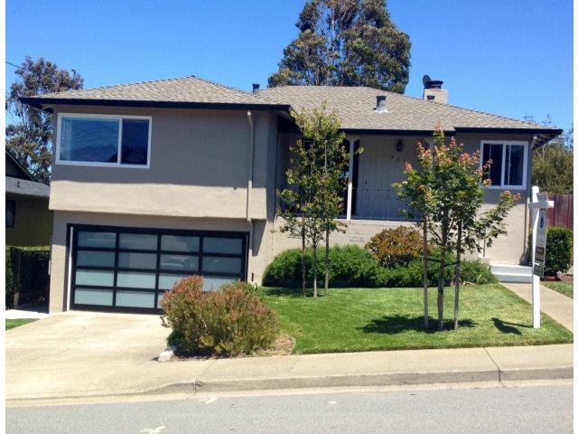 880 Glenview Drive, San Bruno | $850,000 Desirable Crestmoor Park Home