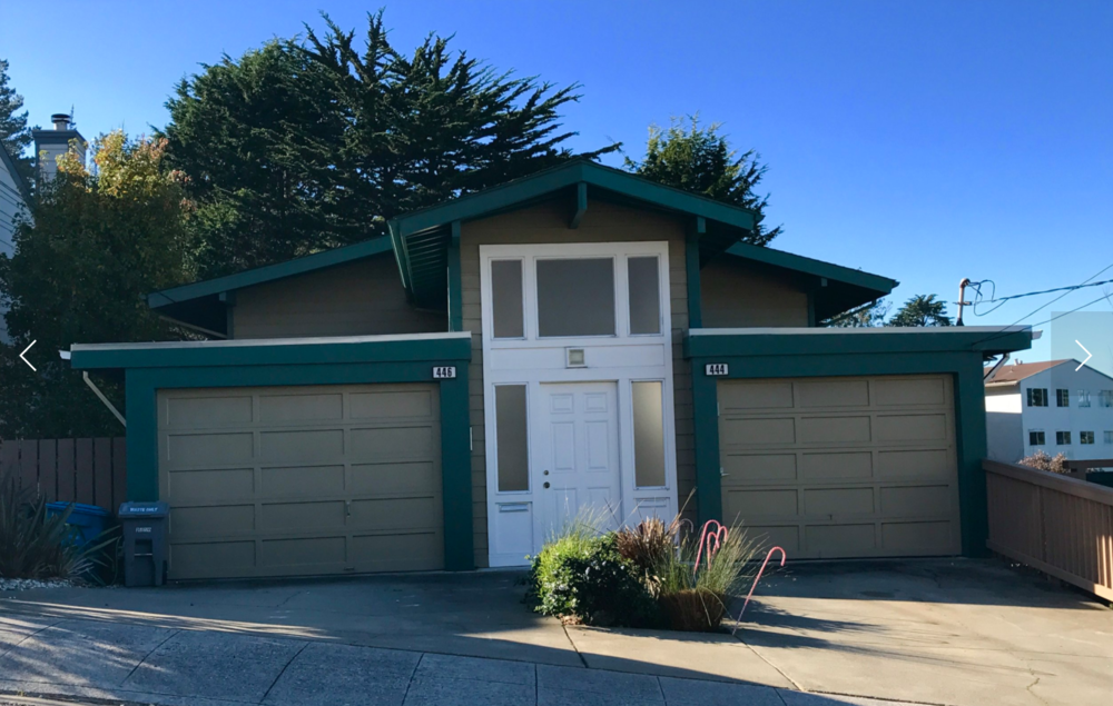 444 - 446 Norfolk Drive, Pacifica | 1,280,000 Desirable Pacific Manor Duplex