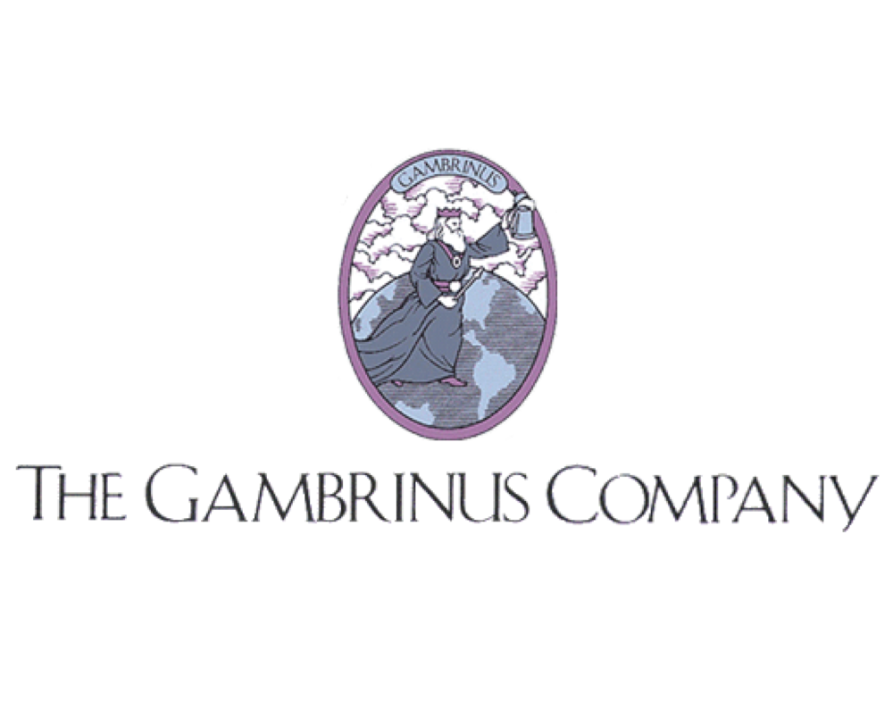The Gambrinus Company logo. Links to the Gambrinus Company website.