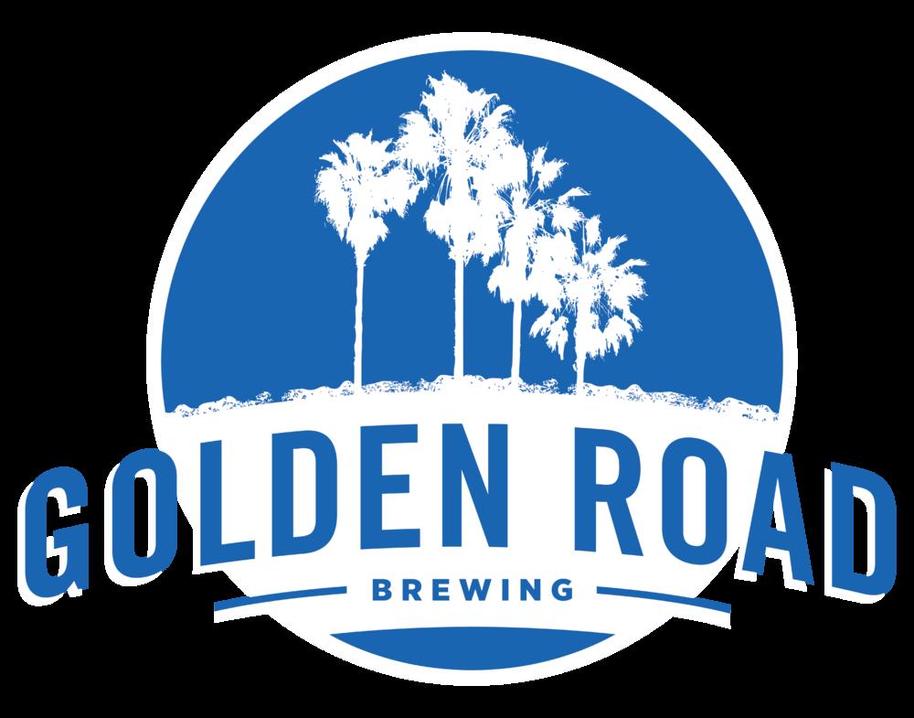 Golden Road Brewing logo. Links to Golden Road Brewing website.