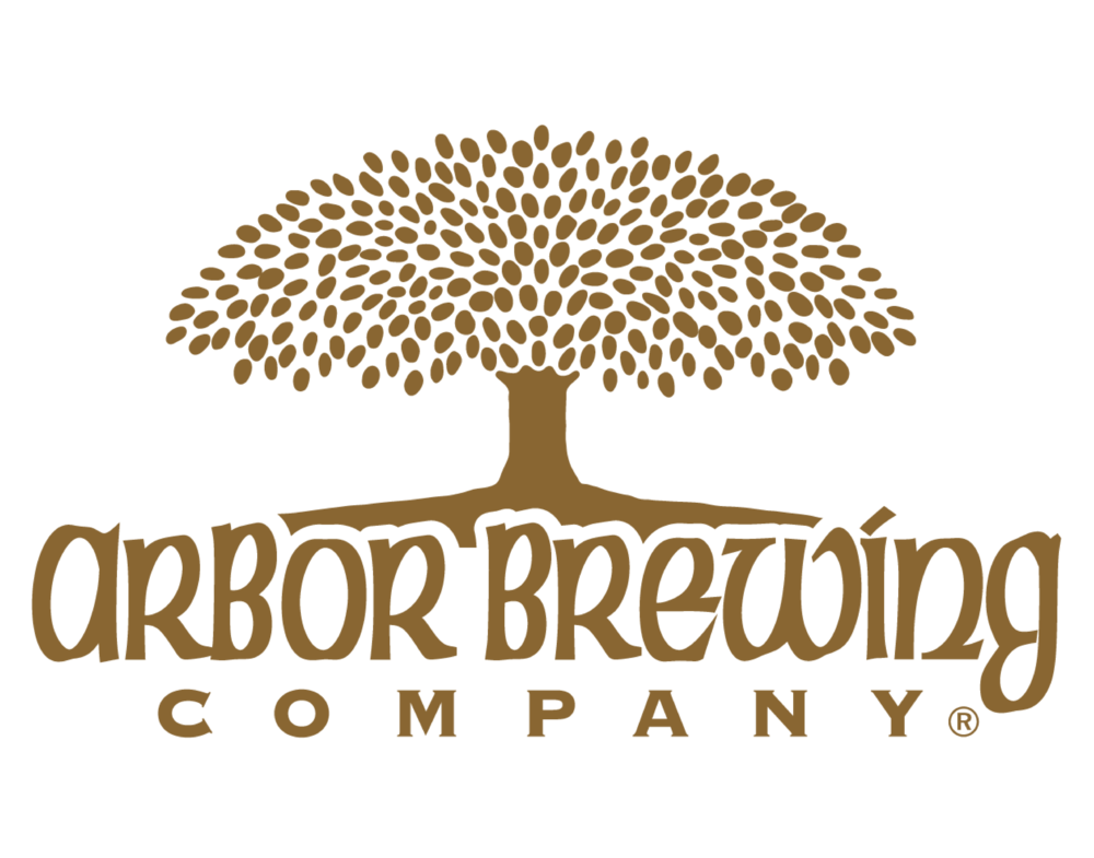 Arbor Brewing Company logo. Links to Arbor Brewing Company website.