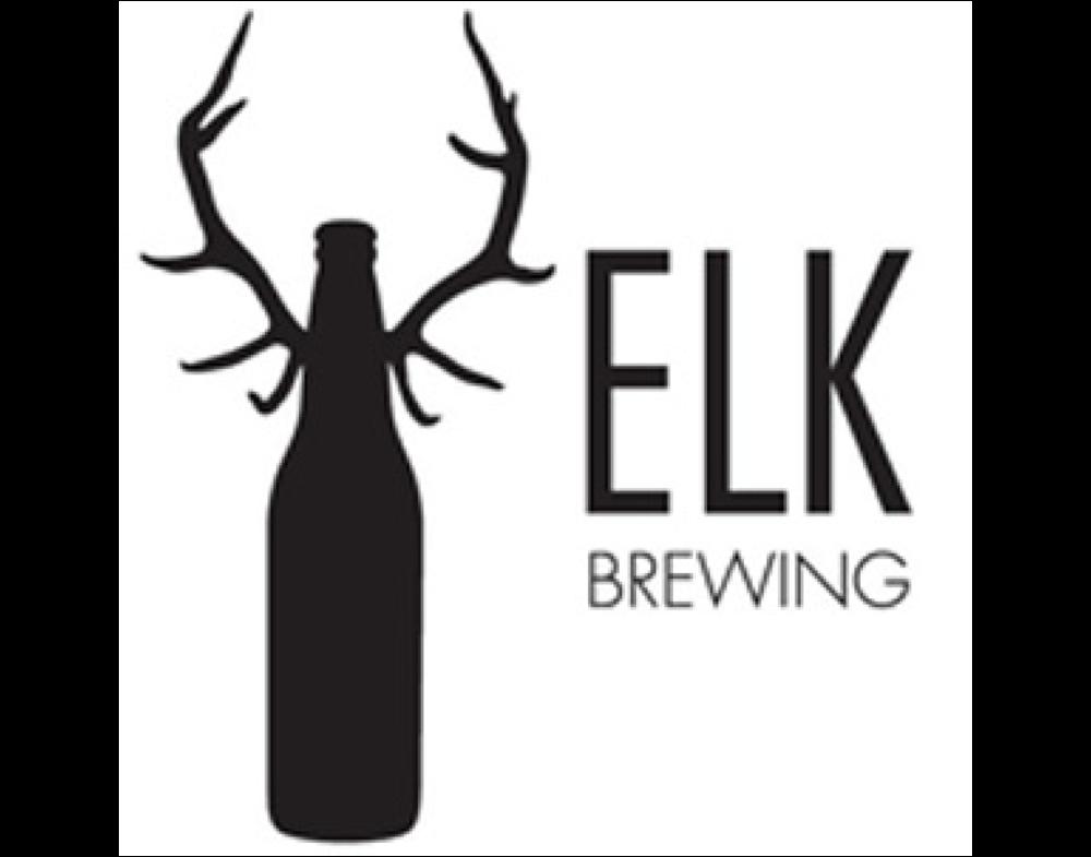 Elk Brewing logo. Links to Elk Brewing website.