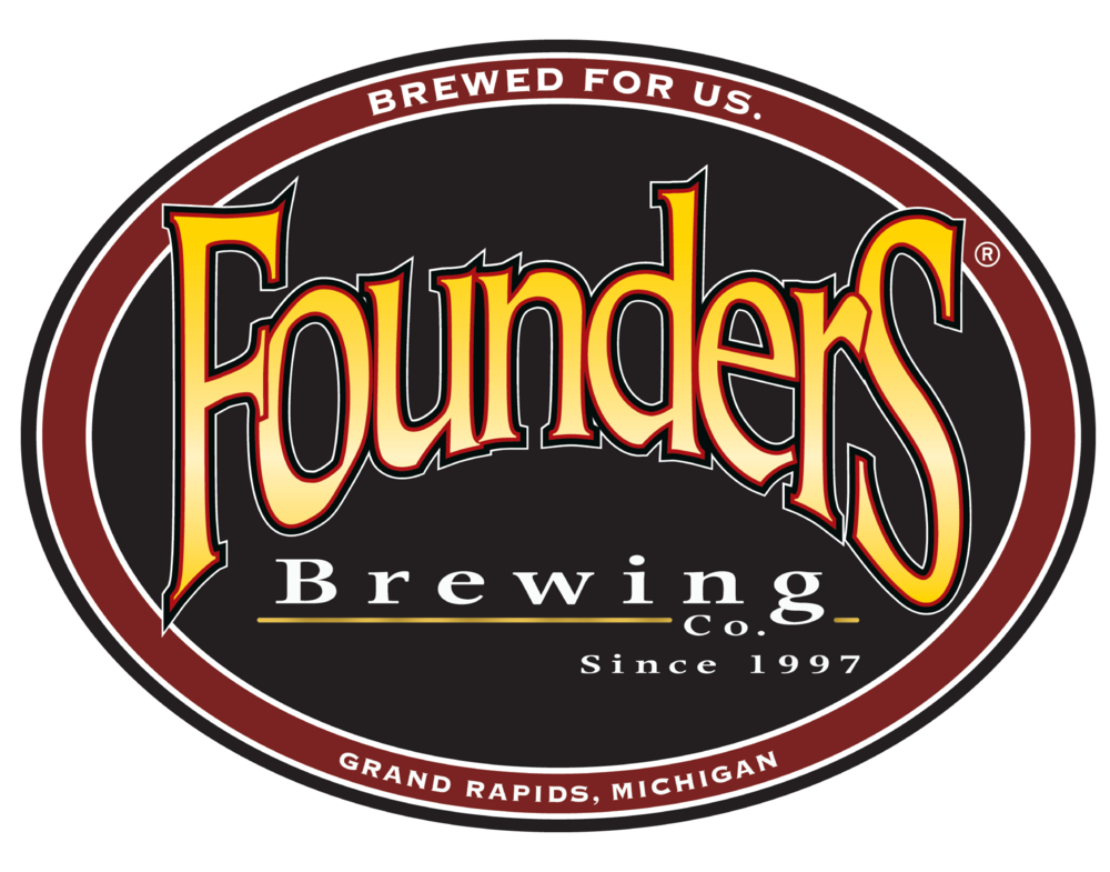 Founders Brewing logo. Links to Founders Brewing website.