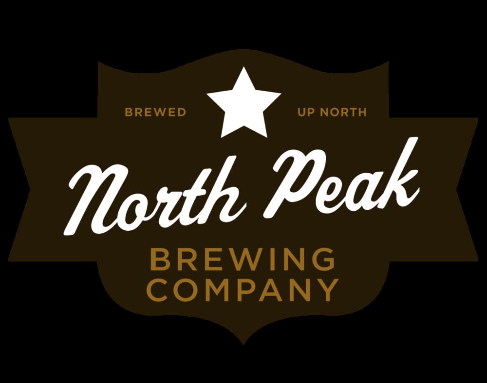 North Peak Brewing Company logo. Links to North Peak Brewing Company website.