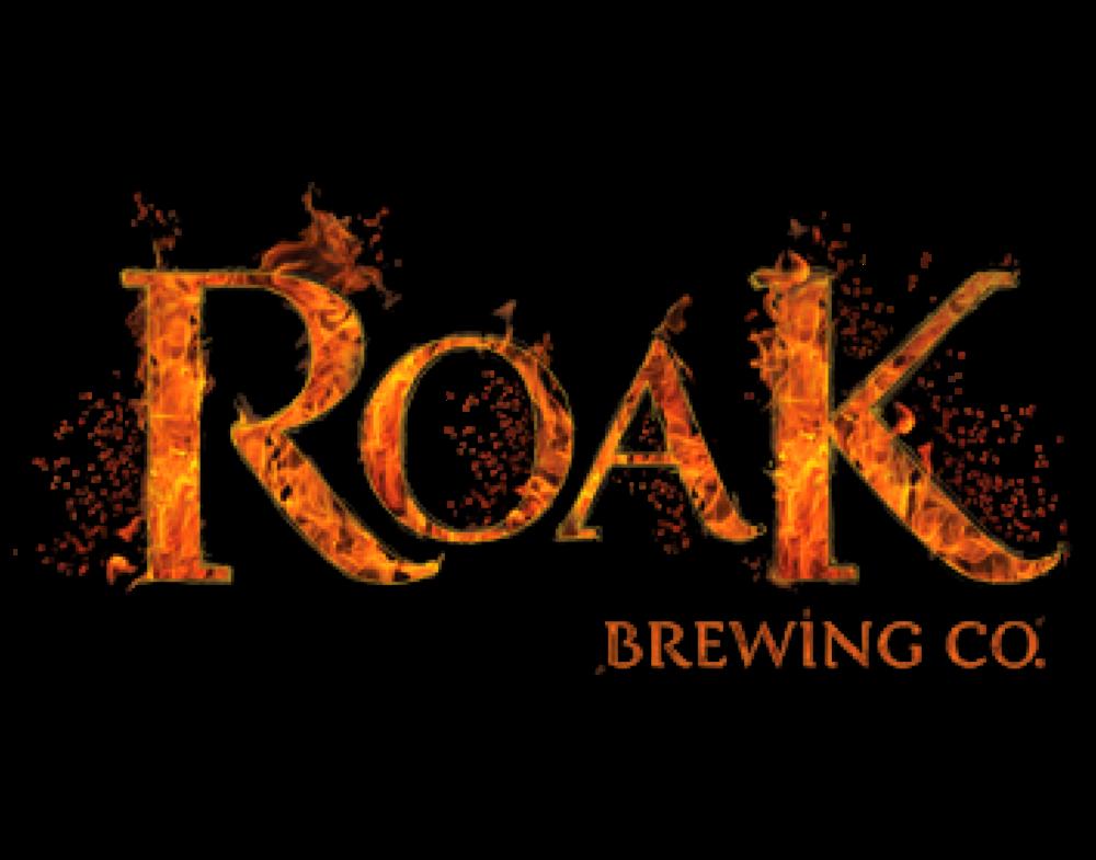 ROAK Brewing logo. Links to ROAK Brewing website.