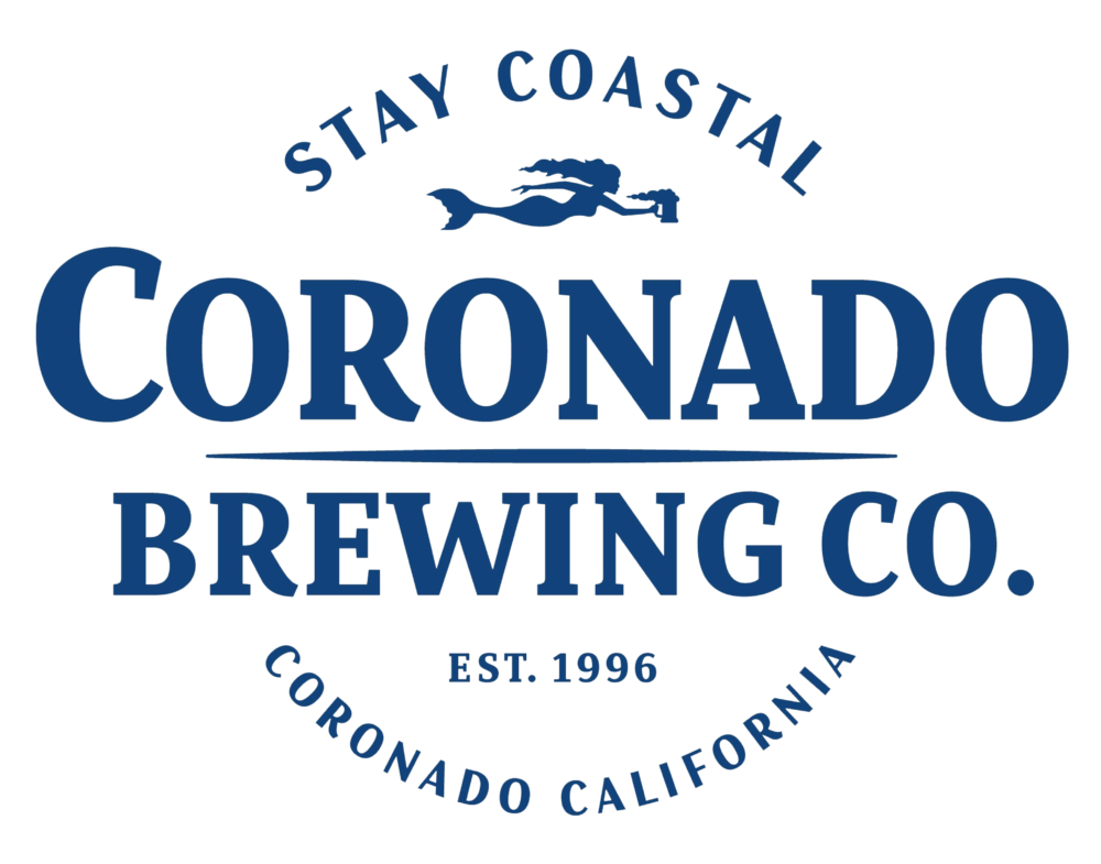 Coronado Brewing Company logo. Links to Coronado Brewing Company website.