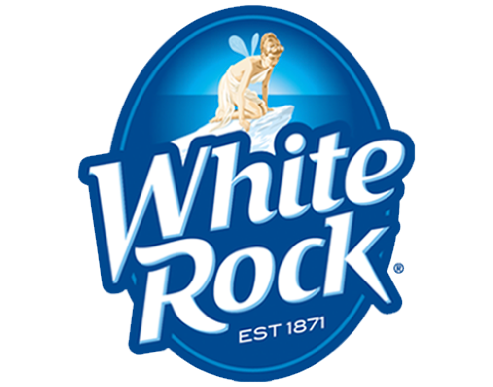 White Rock logo. Links to White Rock logo.