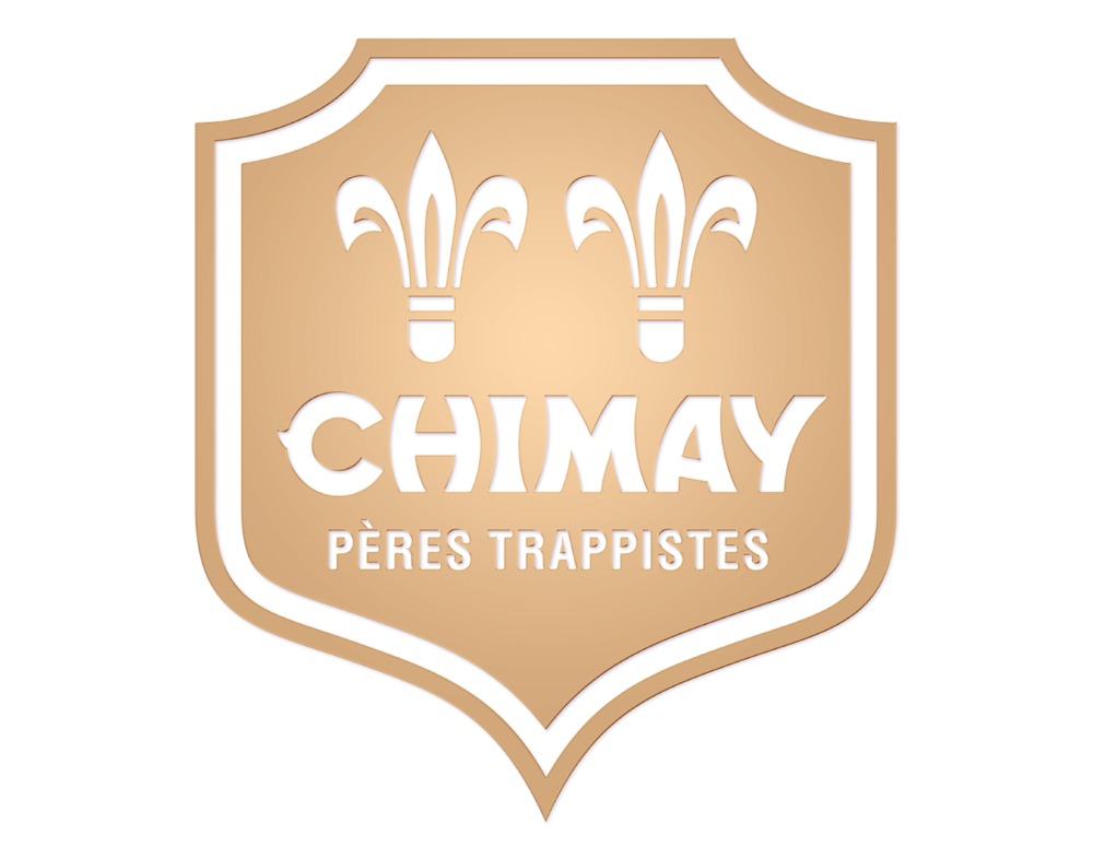 Chimay logo. Links to Chimay website.
