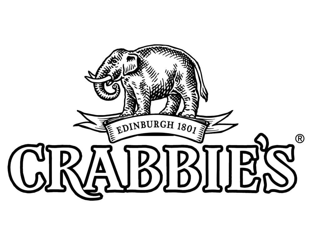 Crabbies logo. Links to Crabbies website.