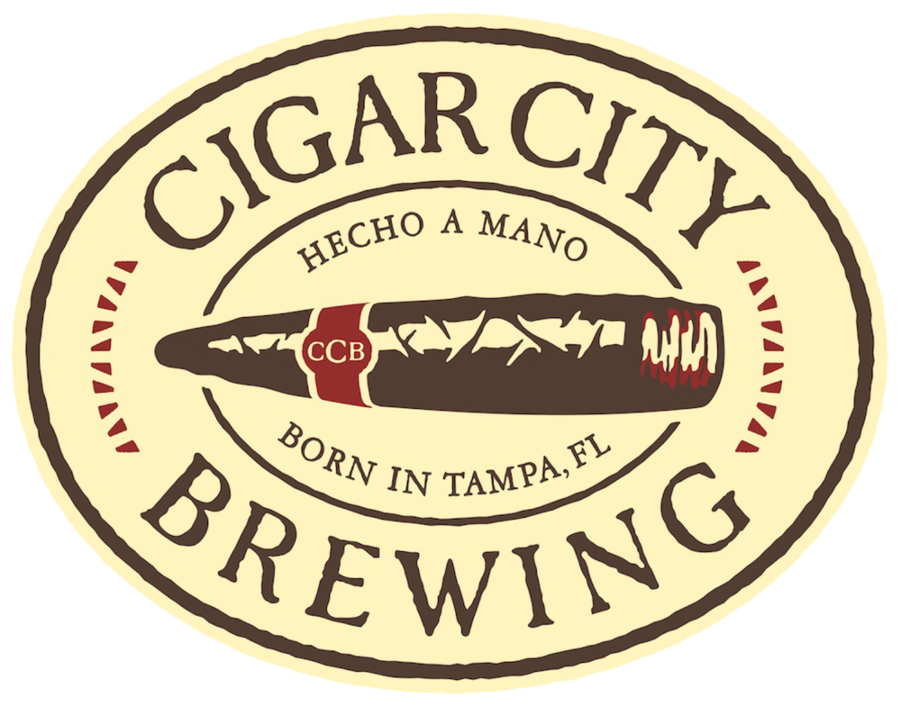 Cigar City Brewing logo. Links to Cigar City Brewing website.