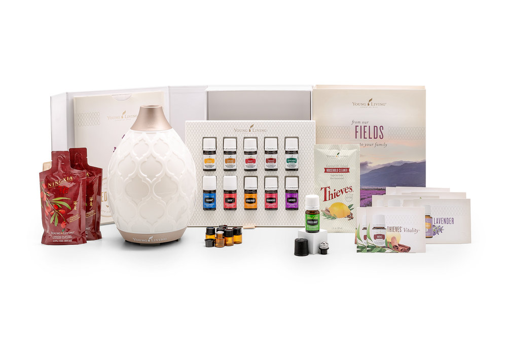 Essential Oils + Diffuser