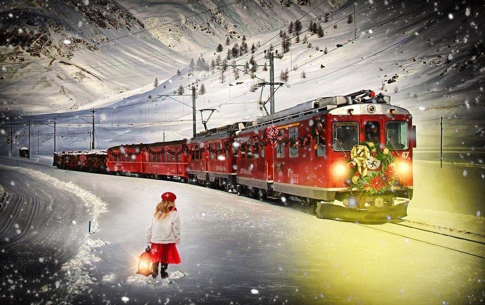 Polar Express by Jill111 at Pixabay