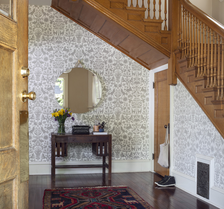 01-Entryway-in-Batya-and-Matts-Wallpapered-Colorado-Home-DesignSponge.jpg