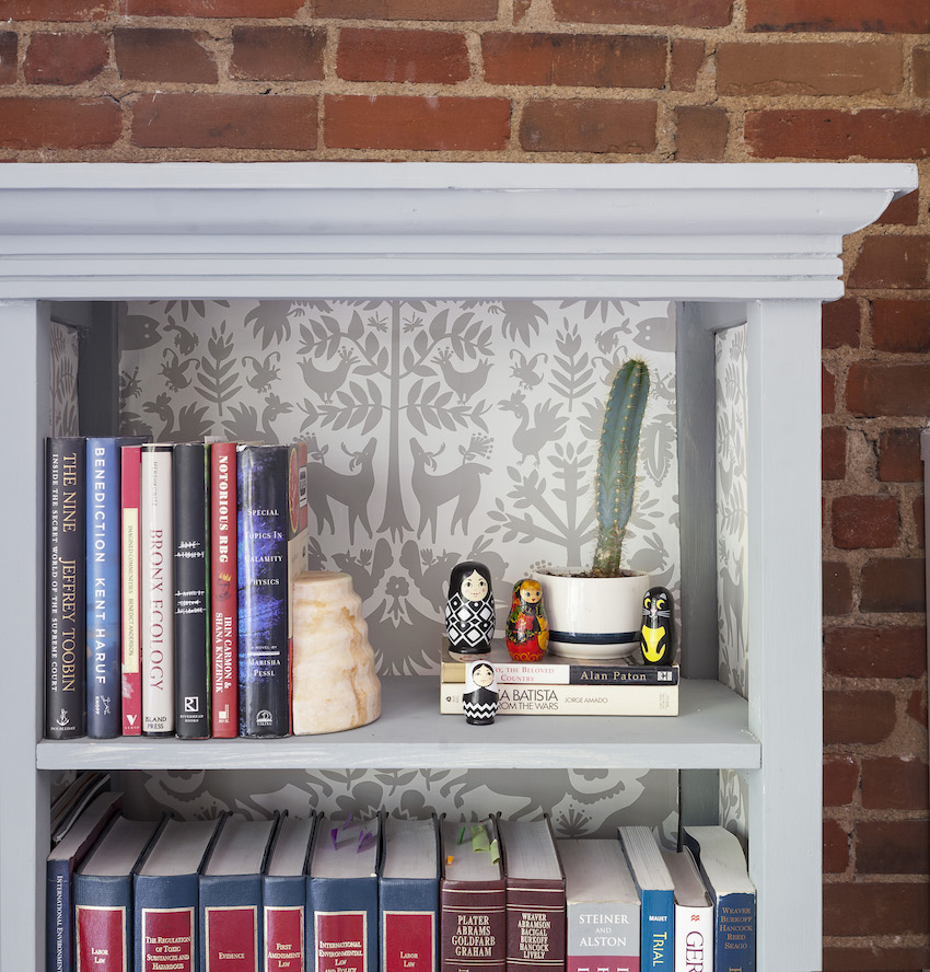 15-Bookcase-in-Batya-and-Matts-Wallpapered-Colorado-Home-DesignSponge.jpg
