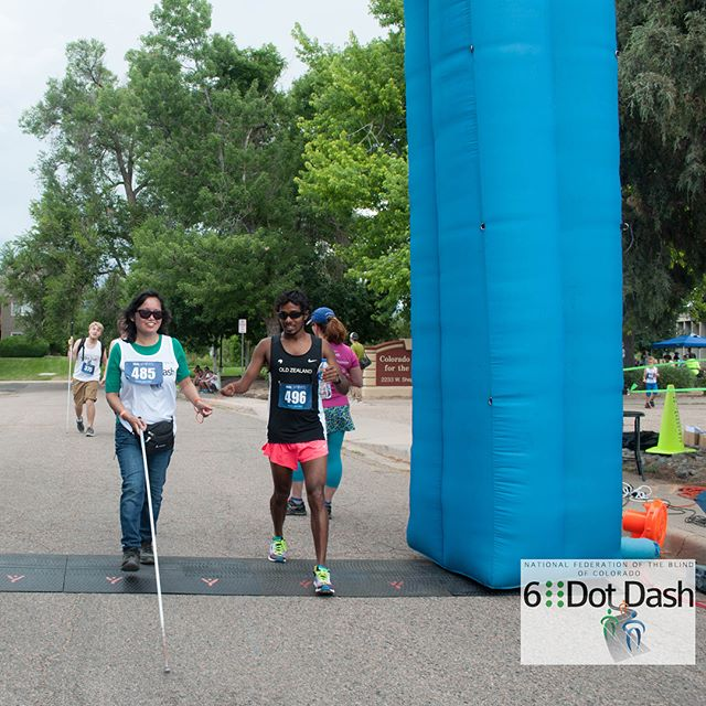 Another late post in true OZAC fashion...a couple weeks ago the kiwis were invited to help out the National Federation of the Blind of Colorado by serving as guides for some amazing runners in the first annual Six Dot Dash. Having a better team turnout than any race to date, it's safe to say we were thrilled to help out! Thanks #nationalfederationoftheblind for the incredible opportunity and fun morning; we'll see you again next year! #6dotdash #volunteer #ozac