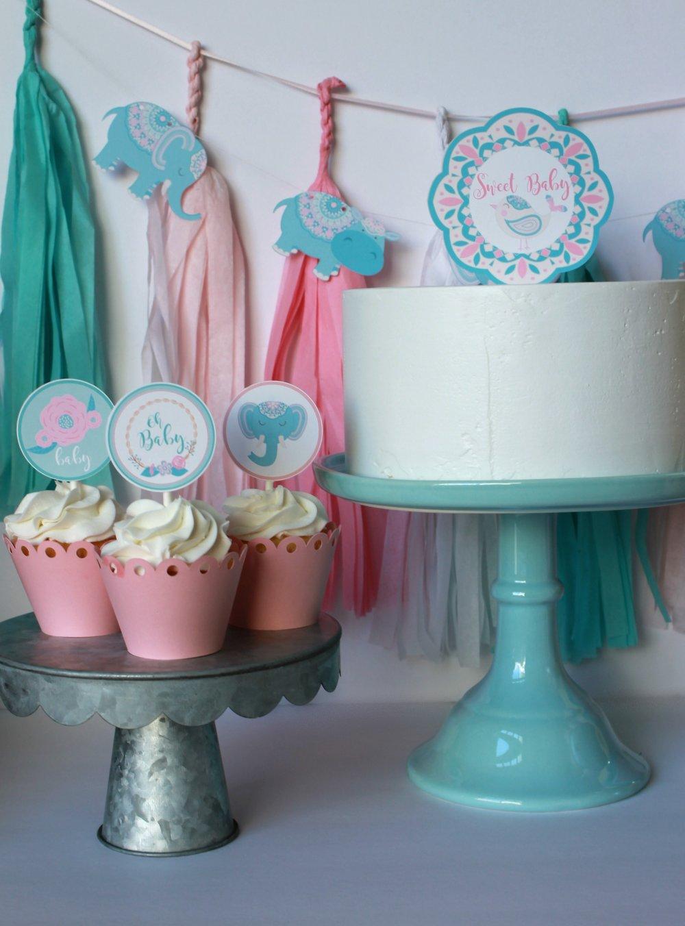 Sweet Baby Topper-Boho Baby Shower-www.SugarPartiesla.com.jpg