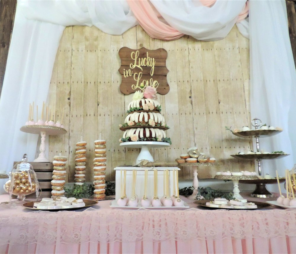 Rustic Wedding-Blush Pink and Gold Wedding-Wedding Dessert Table-Wedding Ideas-Lucky In Love-www.SugarPartiesLA.com.jpg