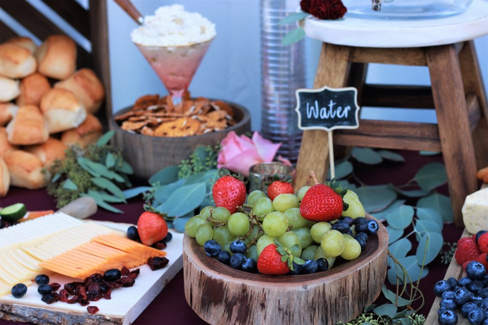 Fall Wedding Food-wedding ideas-wedding-wedding food-wedding appetizers-wedding cocktail hour-cheese and crackers-www.SugarPartiesLA.com