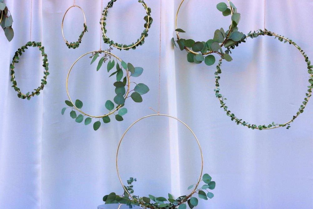 Wedding Decor-Eucalyptus Wreath-Eucalyptus wedding-Wedding Decor-Wedding Ideas-www.SugarPartiesLA.com