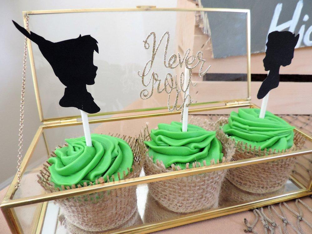 Never Grow Up-Peter Pan party-Peter Pan and Wendy-Peter pan Birthday-Peter pan party-www.SugarPartiesLA.com