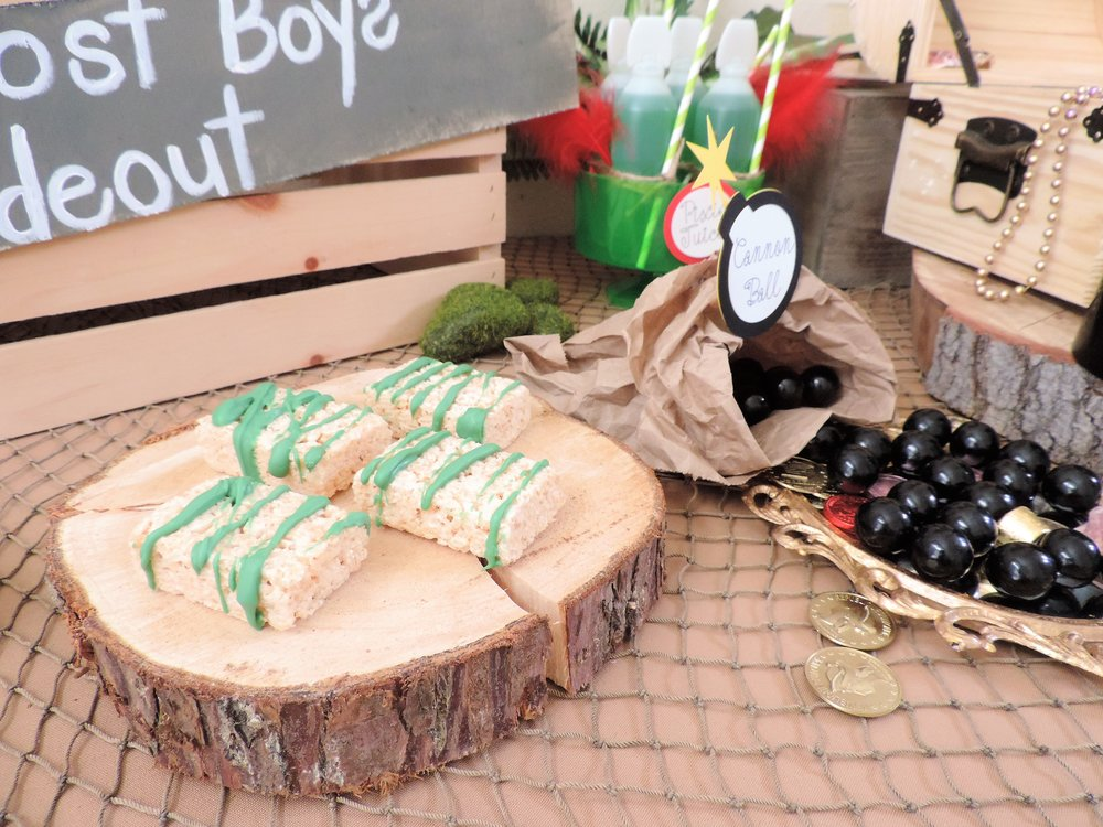 Lost Boys hideout-peter pan-peter pan party-peter pan party idea-peter pan birthday-kids birthday-peter pan party decor-www.SugarPartiesLA.com