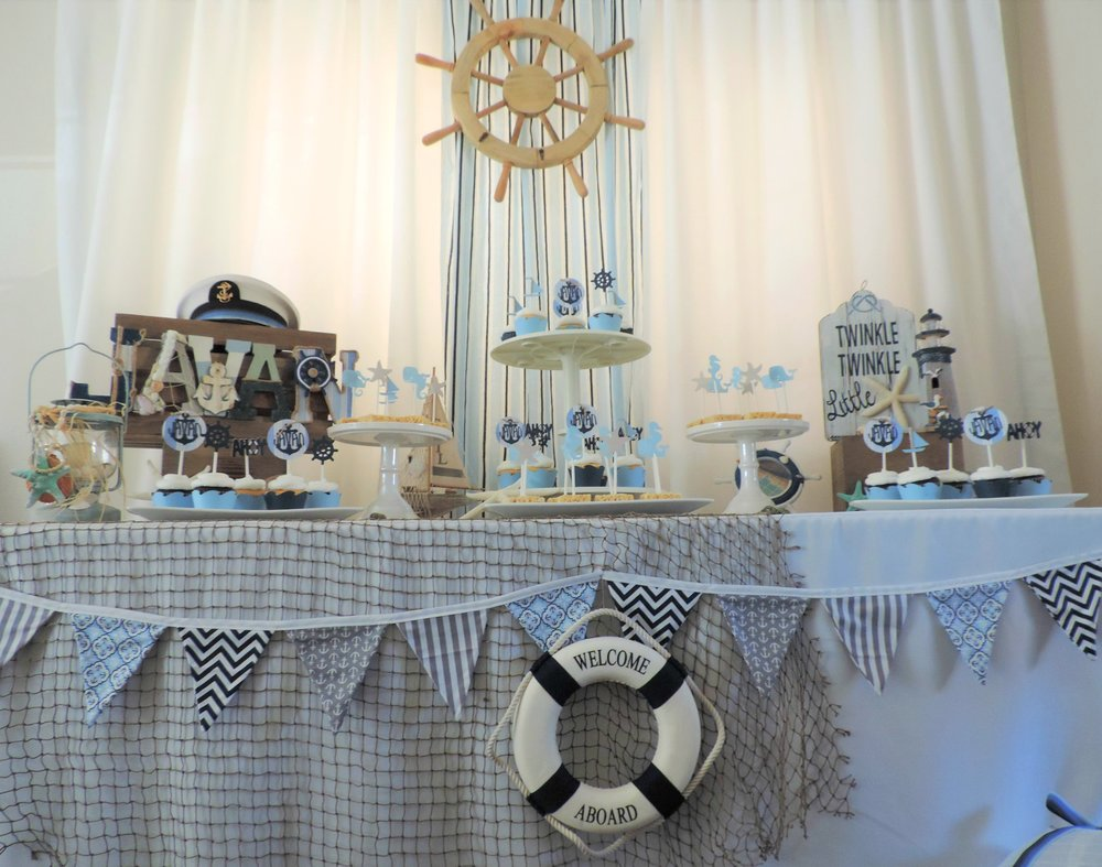 Nautical Baby shower-Boy Baby shower-nautical baby shower Decor-nautical Baby-Nautical Dessert Table-www.SugarPartiesLA.com.jpg