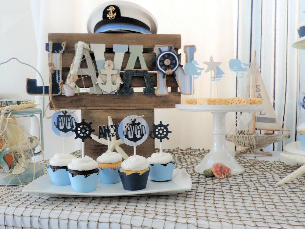Nautical Baby shower-summer baby shower-boy baby shower-nautical baby-nautical boy-baby shower ideas-www.SugarPartiesLA.com.jpg