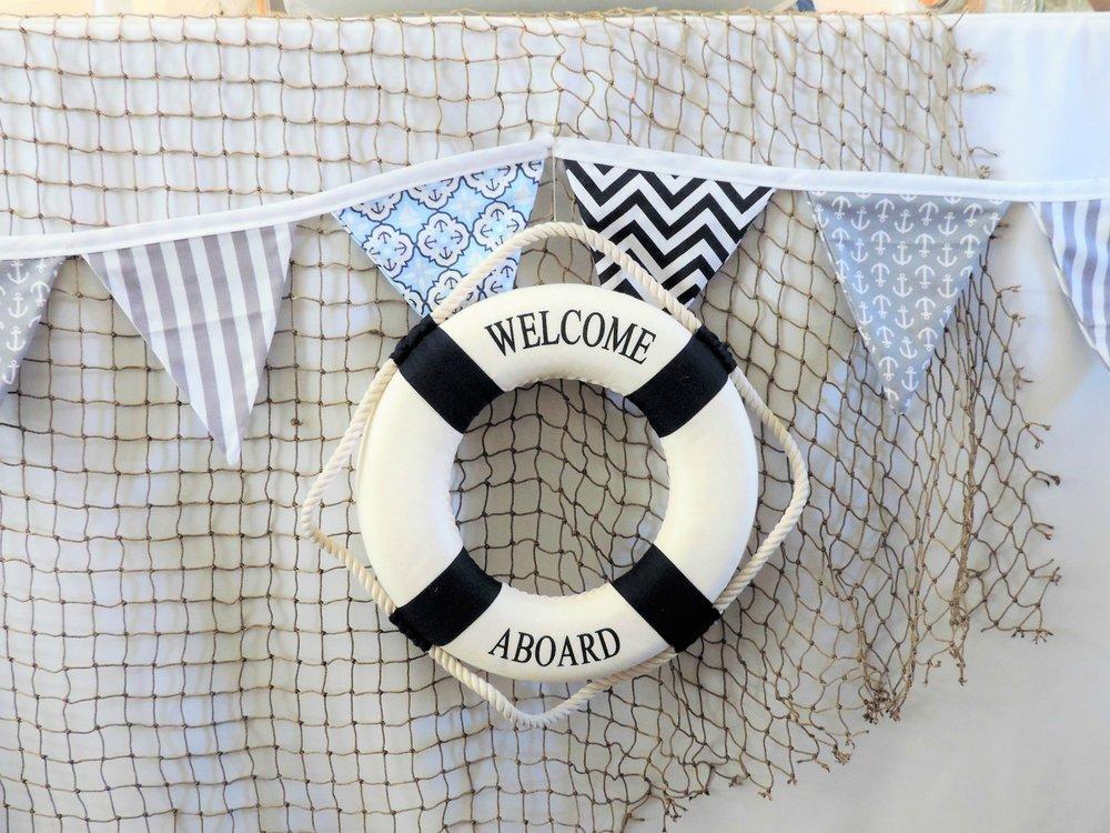 Captains wheel-LifeSaver-Nautical Baby Shower-Nautical Baby Shower Ideas-nautical beach baby shower-nautical baby-www.SugarPartiesLA.com.jpg