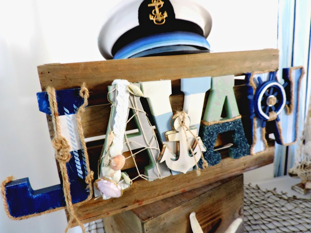 Nautical Letters-Nautical Baby-Nautical Baby Shower- Nautical baby shower decor-nautical crate-Nautical Party Decor-www.SugarPartiesLA.com.jpg