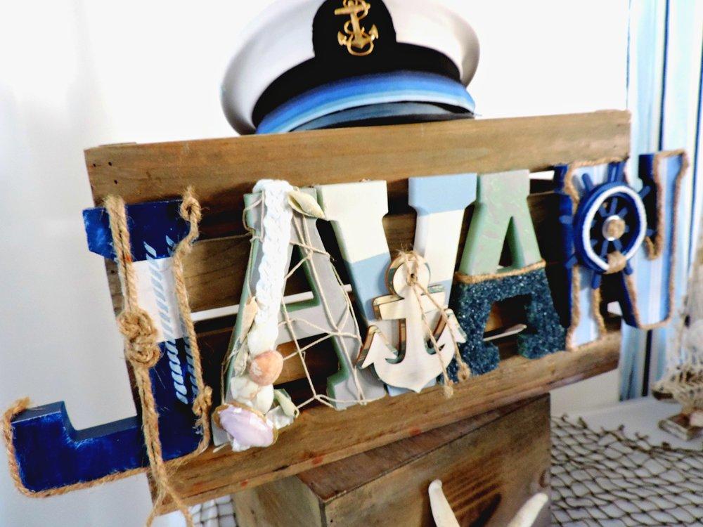 Nautical Letters-Nautical Baby-Nautical Baby Shower- Nautical baby shower decor-nautical crate-Nautical Party Decor-www.SugarPartiesLA.com.jpg