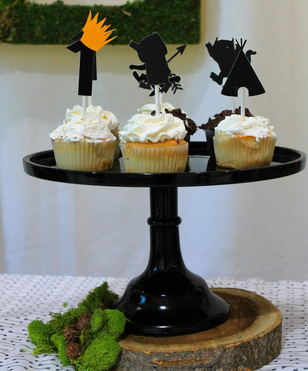 Wild One dessert ideas-wild one cupcakes-let the wild rumpus start-first birthday party-wild one birthday-wild one desserts-www.SugarPartiesLA.com.jpg