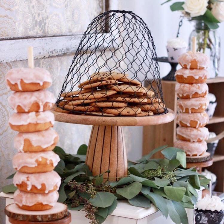 Housewarming party-housewarming party ideas-home sweet home party-home sweet home-cookies-donuts-dessert table-party ideas-www.SugarPartiesLA.com