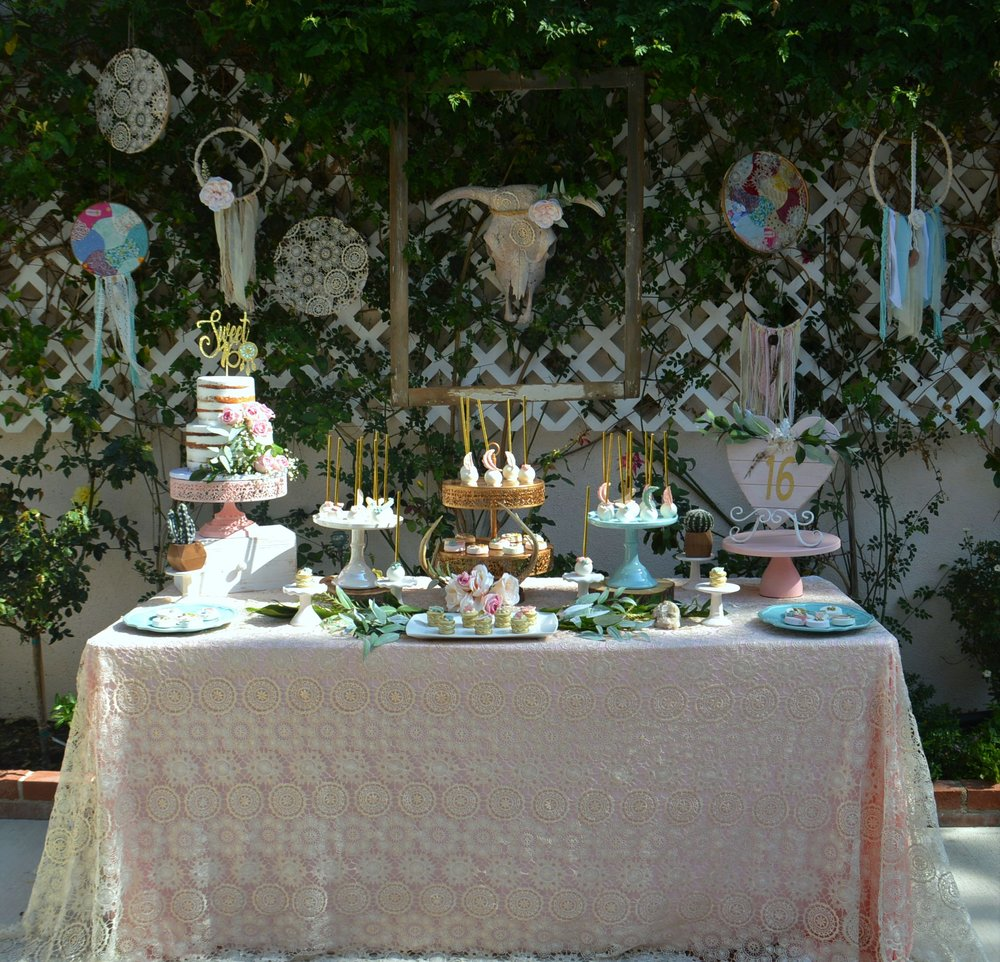 Sweet 16-sweet sixteen-sweet 16 birthday-boho chic birthday-boho birthday ideas-boho sweet 16-sweet 16 dessert table-www.SugarPartiesLA.com.jpg