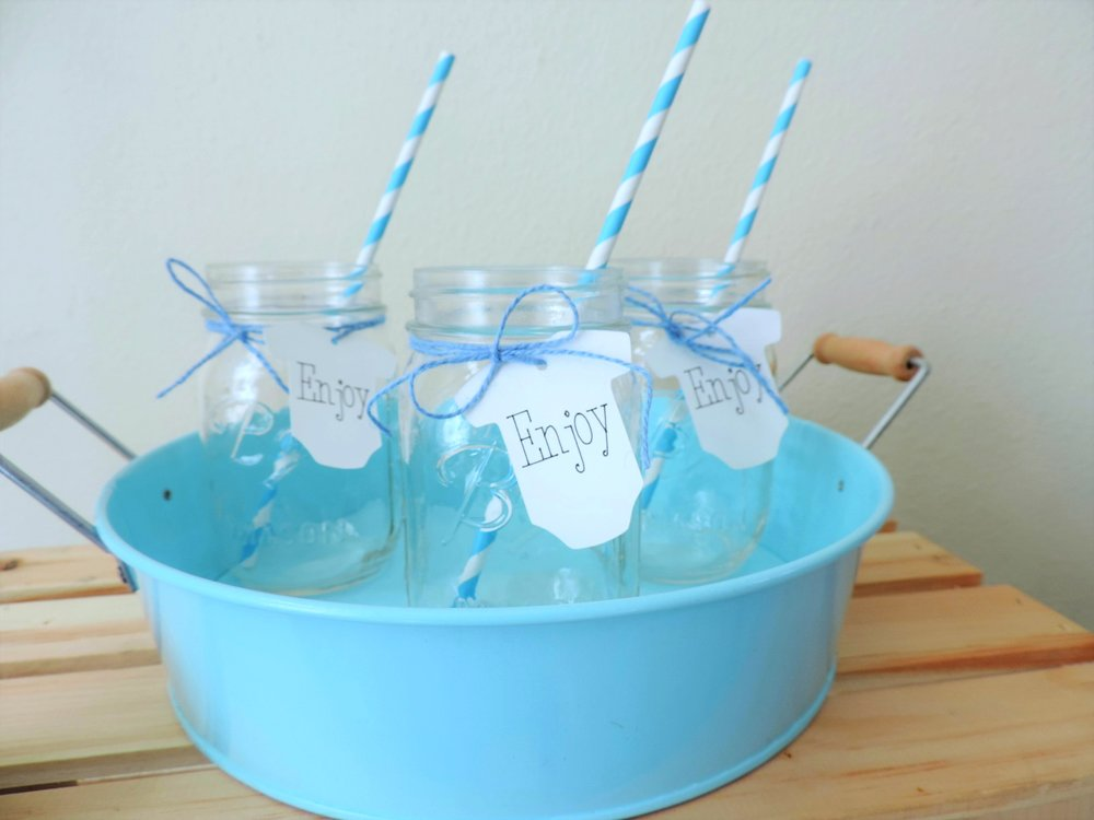Baby Shower Tags-April Showers Bring May Flowers-Enjoy Tags-Baby Onsie Tags-Drink style-baby shower ideas-www.SugarPartiesLA.com.jpg