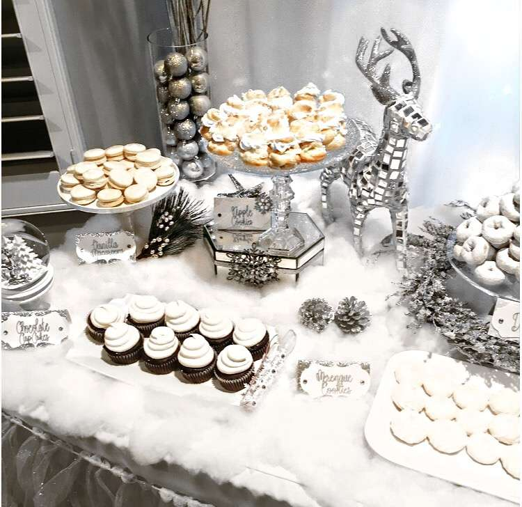 iWinter Wonderland-Winter Wonderland Dessert Table-Winter Wonderland party-White Christmas Party-Winter Wonderland Holiday Party-Winter Wonderland Dessert Table-www.SugarPartiesLA.com