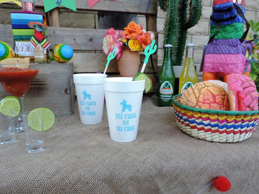 Tequila Party Table-Mi casa es su casa-Cinco De Mayo Party-Tequila Party-Fiesta Party-Fiesta Drink Table-Tequila Party Ideas-Drinko De Mayo-Cinco De Mayo Party Idea-Mexican Theme Party-Fiesta-Cinco De Mayo Party Ideas and Decor-Taco Party-www.SugarPartiesLA.com