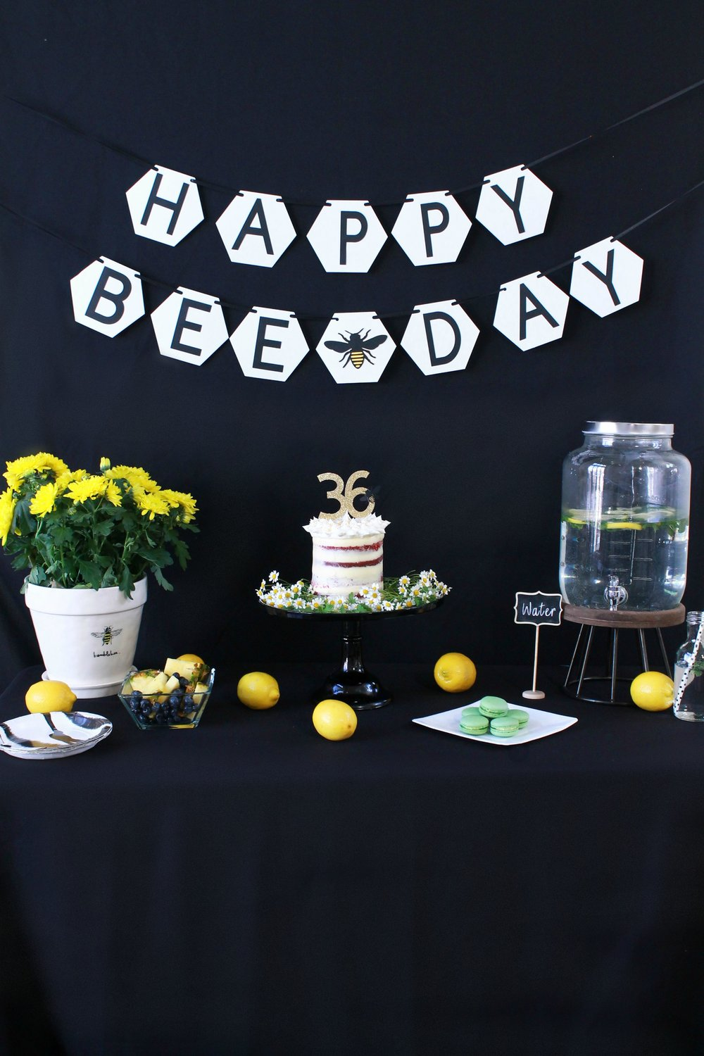 Bee Birthday Party