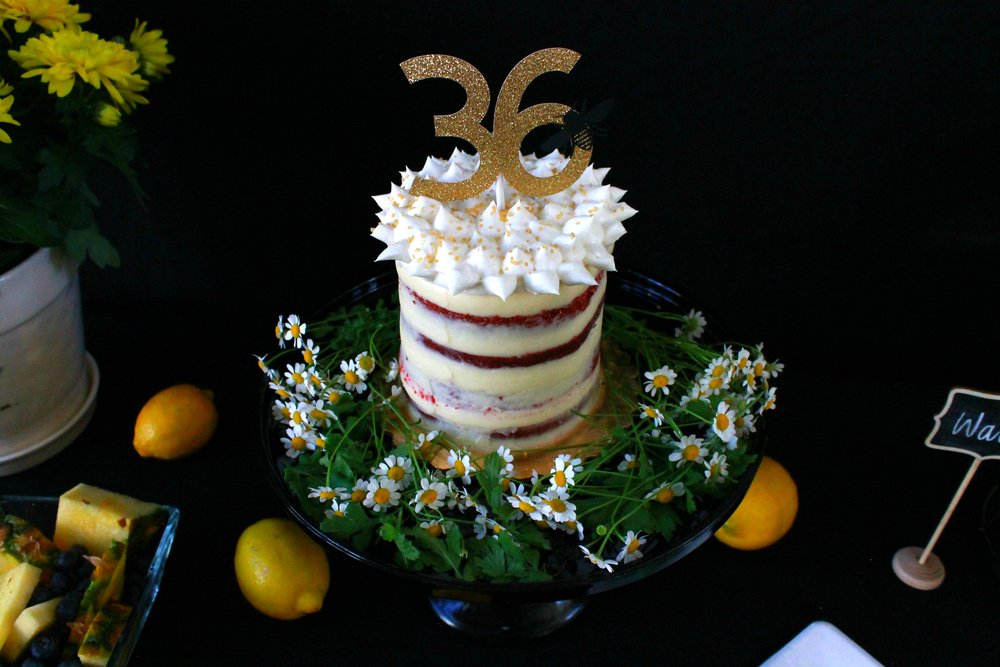 Bee Birthday-Happy Bee Day-Bee Party-Naked Cake-Spring Birthday -Bee Birthday Ideas-www.SugarPartiesLA.com.jpg