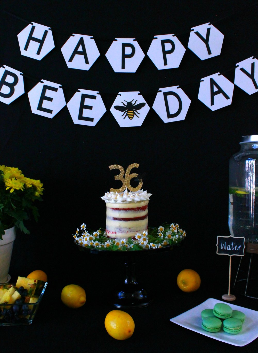 Happy Bee Day-Bee Birthday-Bumble Bee Birthday-Spring Birthday-www.SugarPartiesLA.com.jpg
