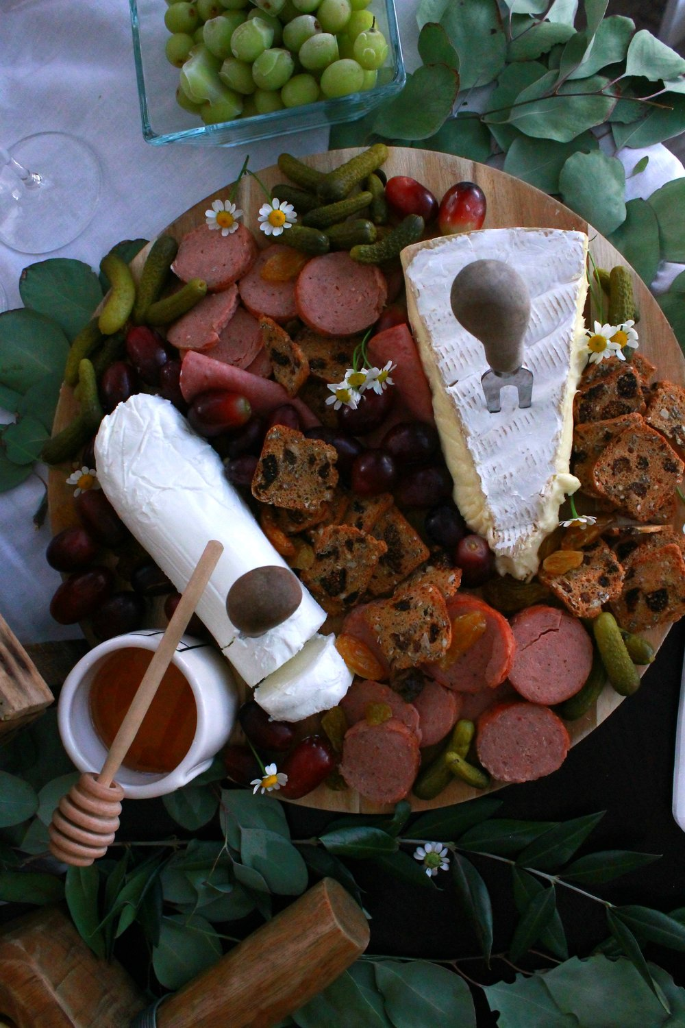 Cheese and Crackers-Cheese and Cracker Board-Girls Night In-Appetizer Board-Brie Cheese-Rustic Cheese Board-www.SugarPartiesLA.com.jpg