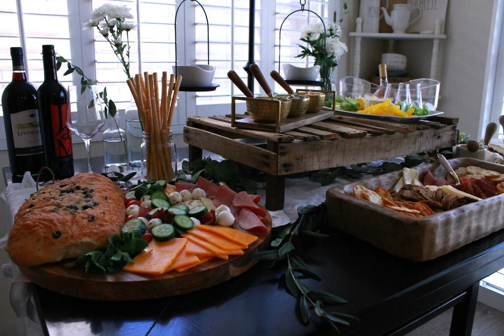 Farmhouse Decor-Farmhouse-Rustic Home-Rose-Wine Night-Cheese and Cracker Ideas-Girls Night In-Cheese Cracker and Wine Night-Cheese Board Ideas-www.SugarPartiesLA.com.jpg