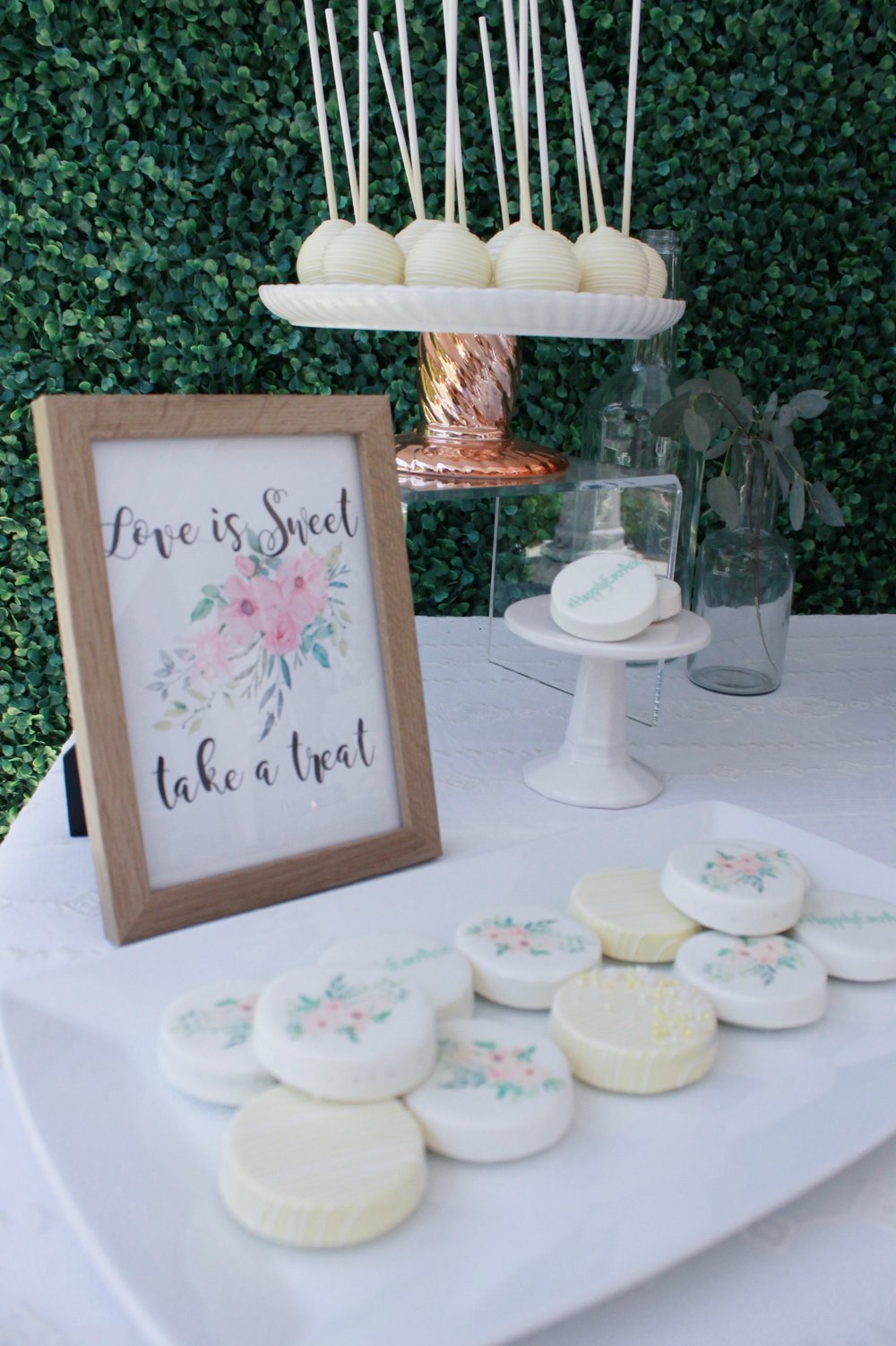 Love is Sweet,Take A Treat-Dessert Table-Bridal Shower-Table Sign-SugarPartiesLA.com.jpg