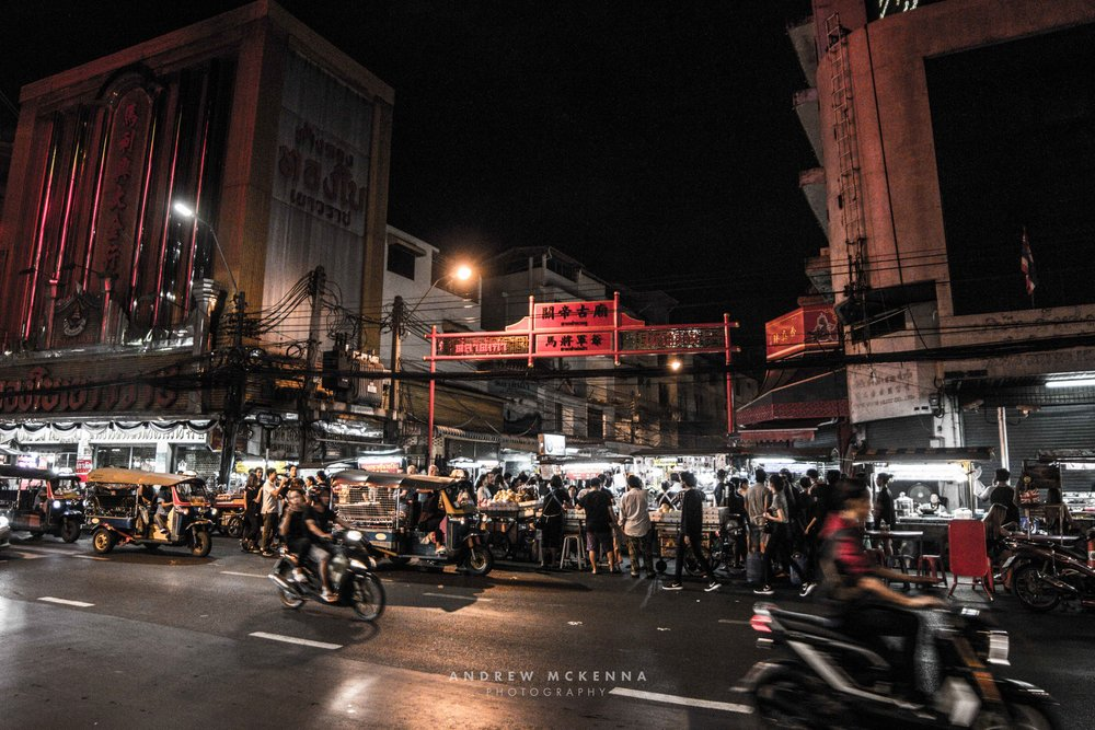 Chinatown Bangkok Thailand. Photography by Andrew McKenna