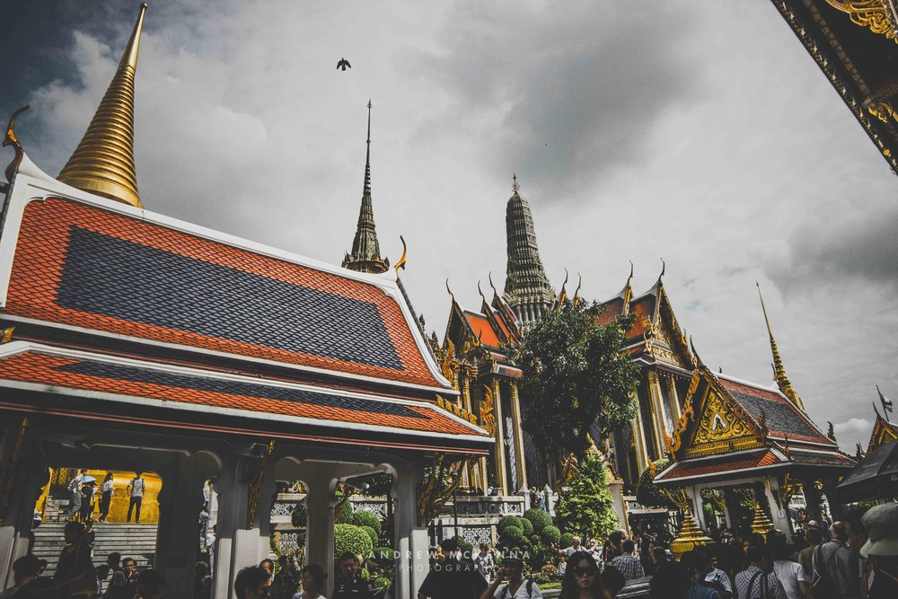 The Grand Palace Bangkok. Thailand, Photography by Andrew McKenna.