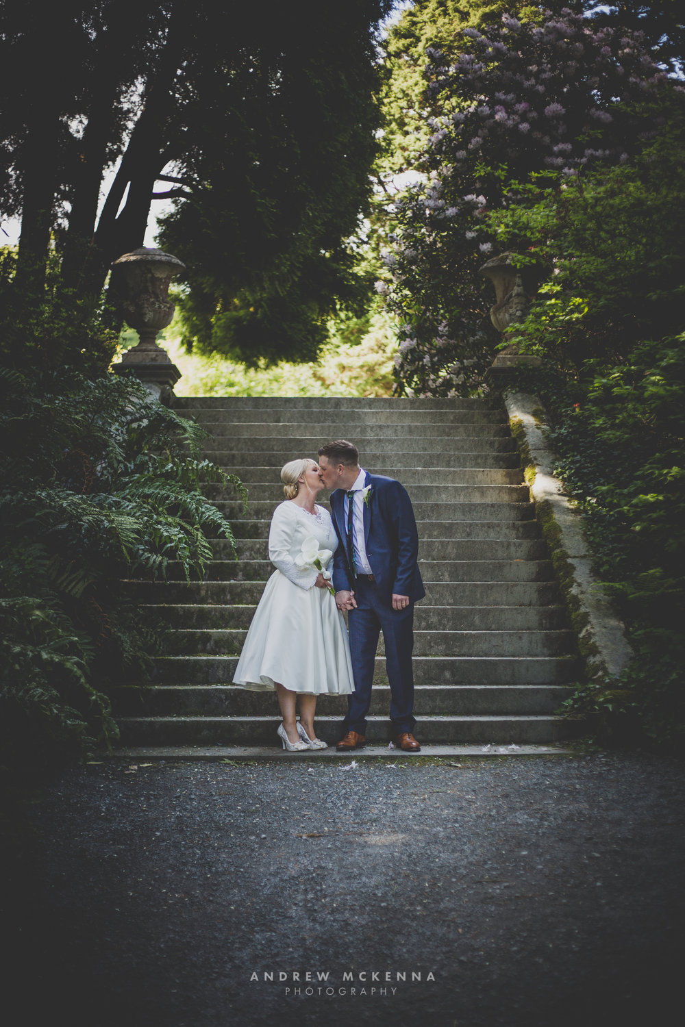 Castlewellan lake, Burrendale Hotel Wedding Photography Newcastle County Down. Photographer Andrew McKenna