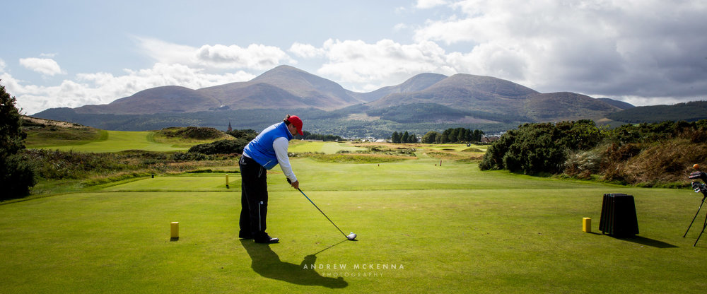Golf Photography, The Royal County Down Golf Club. Newcastle, County Down, Northern Ireland. Photographer Andrew McKenna. Irish Golf Photographer. (www.amckphotography.com)