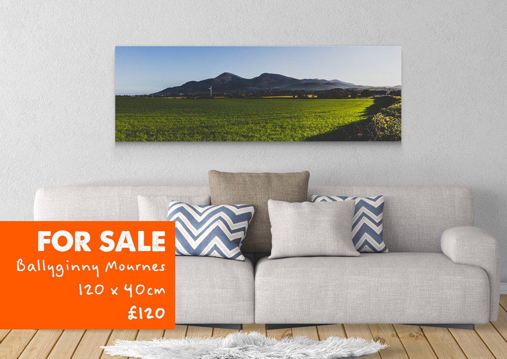 Mourne Mountians  - Ballyginny ( Maghera)