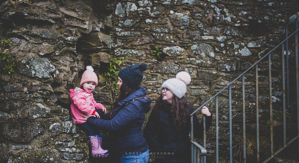 Natural Family Photography Photoshoot Newcastle County Down Dundrum Castle