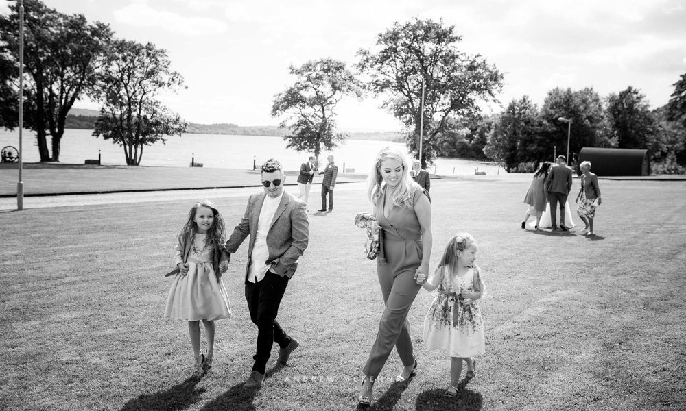 Anna & Ricky Rossharbour Resort on the shores of Lough Erne Wedd